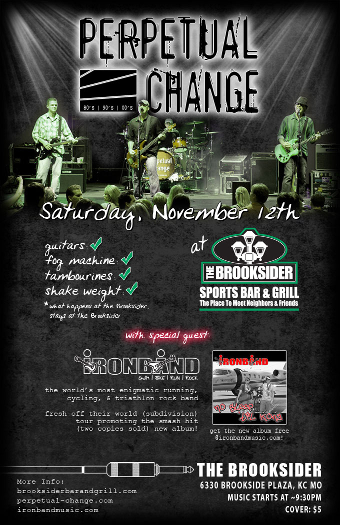 Ironband - Live @ the Brooksider